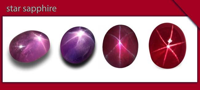 سنگ یاقوت ستاره ای