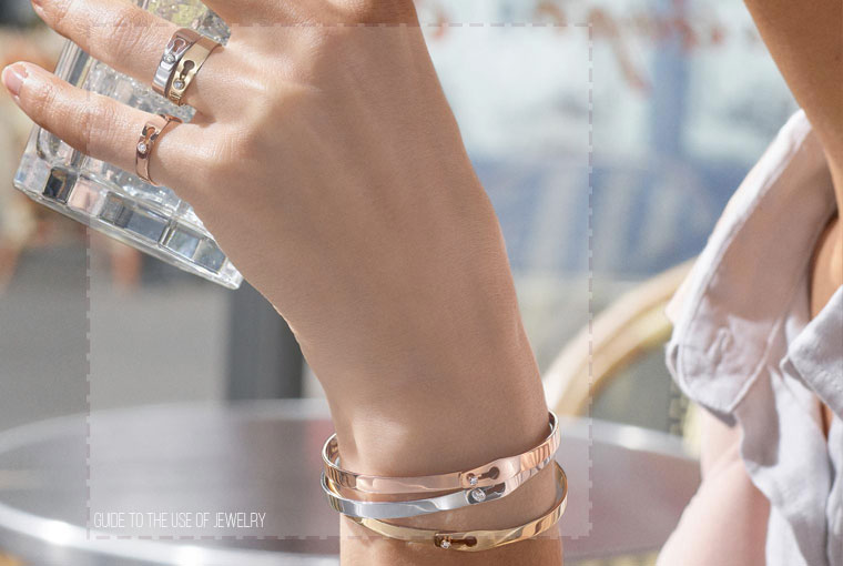 راهنمای استفاده از جواهرات
