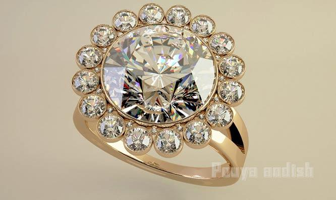 تری دی مکس طراح جواهر