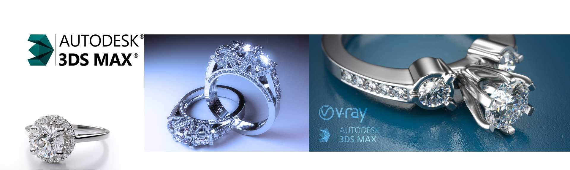 3dmaxطراحی جواهرات