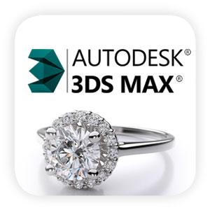 تری دی مکس در طراحی جواهرات