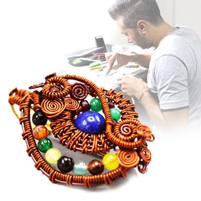 جواهرسازی ساخت زیورآلات