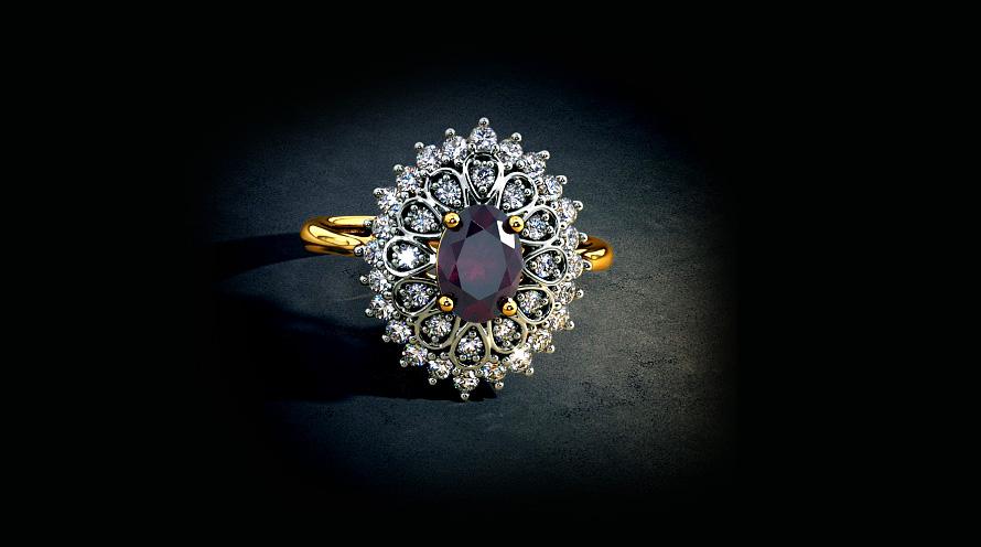 نقش طراحی جواهرات