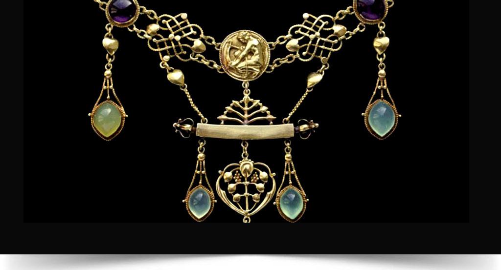 تاریخ سبک های جواهرات