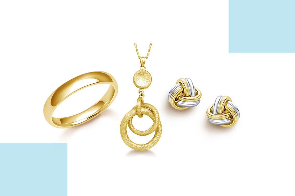 تمیز کردن جواهرات طلا