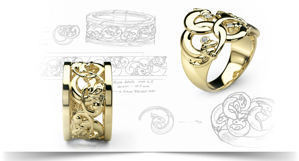 آموزش طراحی جواهر