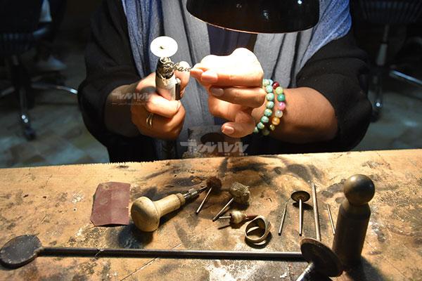 کلاس آموزش جواهر سازی