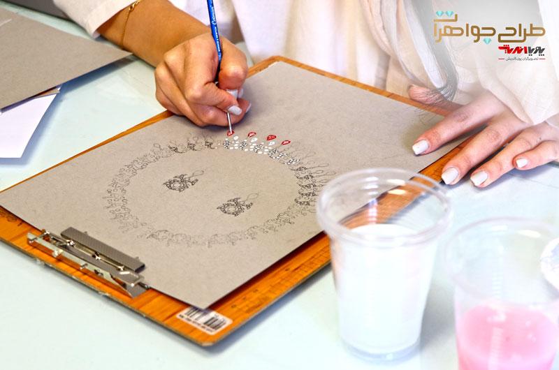 کلاس های طراحی جواهرات دستی