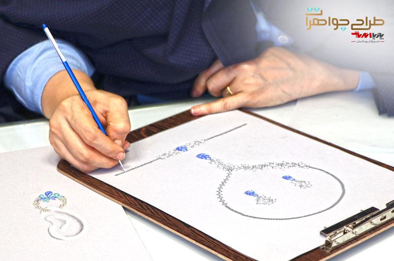 دوره طراحی جواهرات دستی
